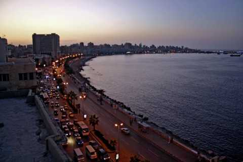 Alexandria: Guided Walking Tour with Carriage Ride