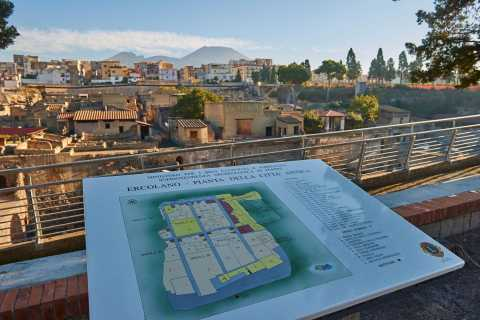 From Sorrento: Herculaneum & Vesuvius Day Trip