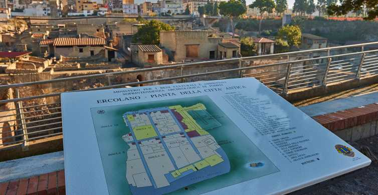 From Sorrento: Herculaneum & Vesuvius Day Trip