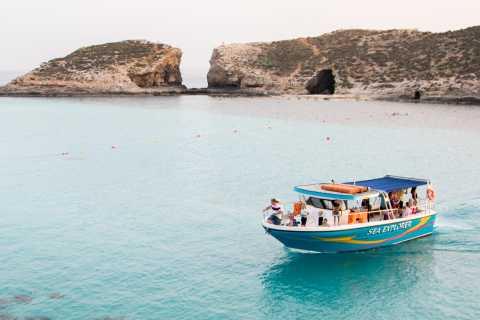 Malte: location de bateaux personnalisables privés le long du littoral