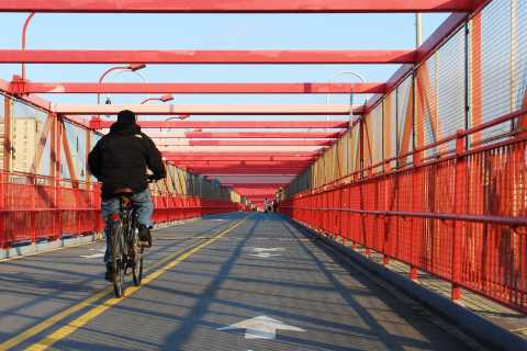 From Manhattan: Williamsburg Bridge Bike Rental