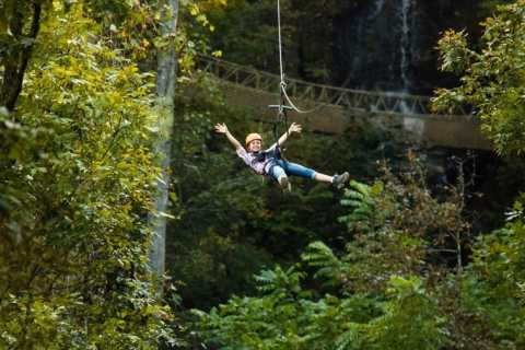 Foxfire Mountain: Waterfall Canopy Zip Line Tour