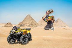 Cairo: Tour de Camelo e Quadriciclo ao Redor das Pirâmides