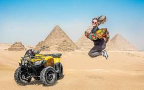 Cairo: Quad & Camel Ride Combo Tour Around the Pyramids