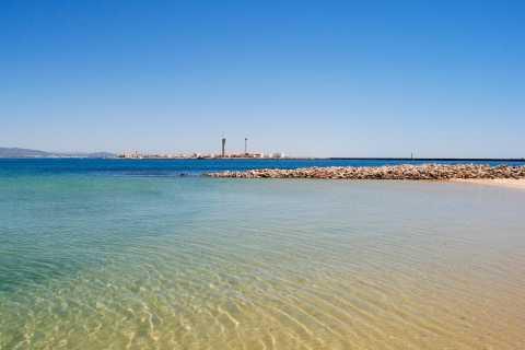 Faro: Cruzeiro de Catamarã à Ilha Deserta e Ilha do Farol