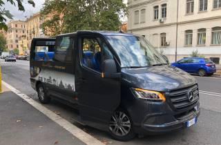Rom: Nachttour mit dem Minibus unter freiem Dach