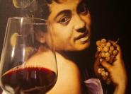 Rom: 2-stündiges Caravaggio-Kunst- und Weinerlebnis