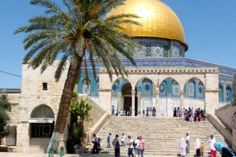 From Sharm El Sheikh: Dead Sea and Jerusalem Day Tour
