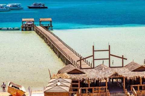 Hurghada: Full-Day Submarine, Snorkeling & Orange Bay Trip