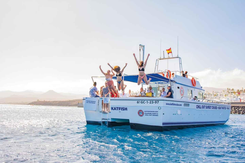 Lanzarote: All-Inclusive-Bootsfahrt mit Wasseraktivitäten