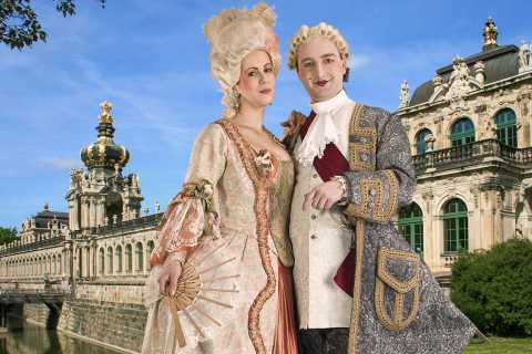 Dresden: 1.5-Hour Historical Costume Tour