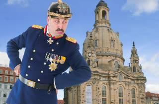 Dresden: Lustige Rundfahrt in sächsischer Mundart