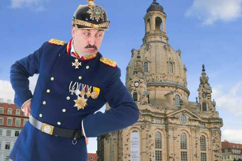 Dresden: Comedy Tour in Saxon German