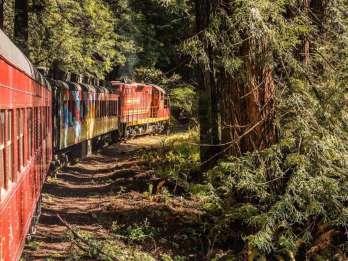 Mendocino County: Zugfahrt mit dem Skunk Train Pudding Creek