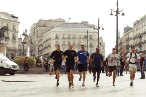 Madrid: Running Sightseeing Tour