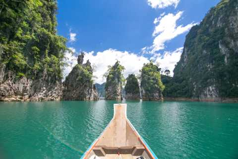 Khao Sok National Park: 2-Hour Chiew Larn Lake Boat Tour