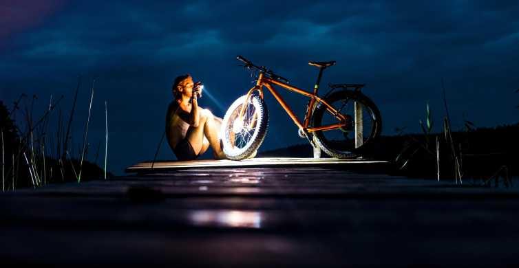 Visaginas: Fat Biking Tour Extreme Night Tour