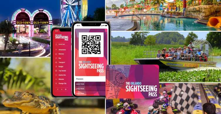 Orlando: Sightseeing Flex Pass, Discounts, and Trolley Tour