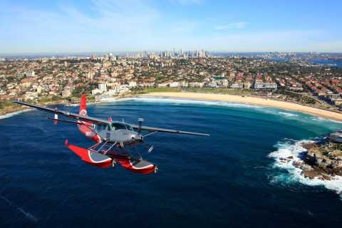 Sydney: 15-Minute Flight and Seafood Feast at Empire Lounge