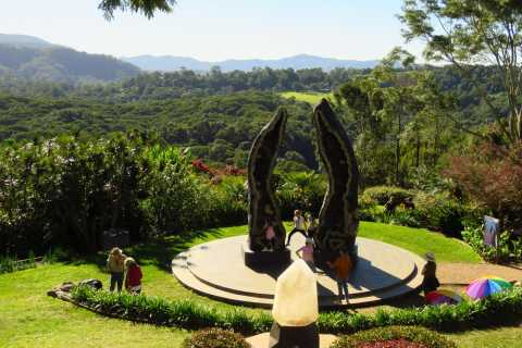 From Byron Bay: Half-Day Trip to Crystal Castle