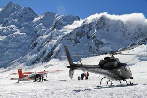 Mount Cook: Ski Plane and Helicopter Alpine Combo Flight