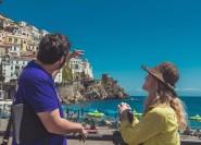 Von Rom: Tagestour Pompeji und Amalfiküste mit dem Zug