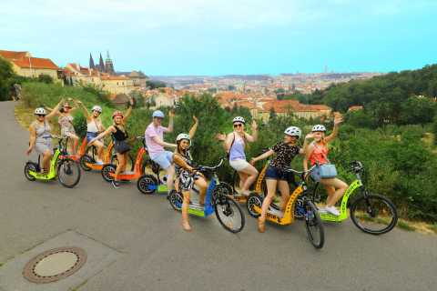 2-hour Private Prague Tour on eBike and/or eScooter