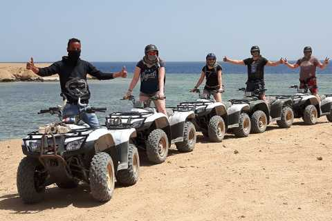 Makadi Bay: 2-Hour Quad Bike Sea and Desert Tour