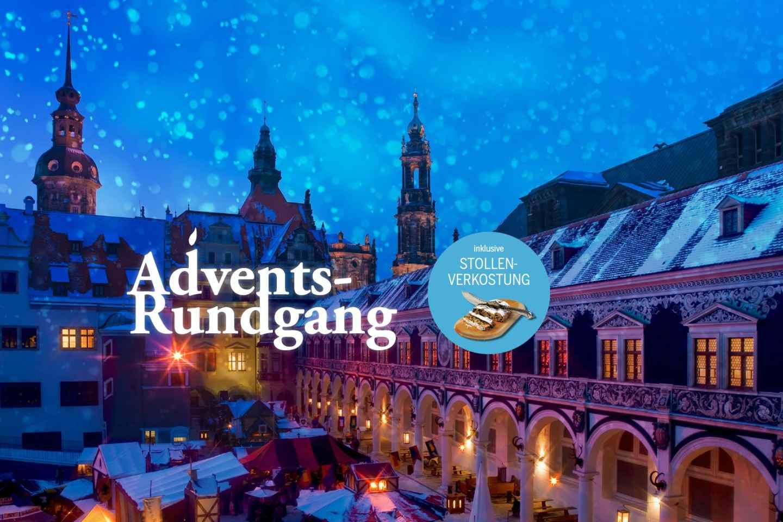 Dresden: Advent-Tour mit Stollen-Verkostung