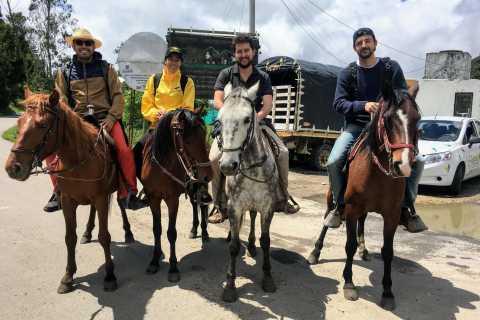 Bogotá: Horseback Riding from Guadalupe to Monserrate