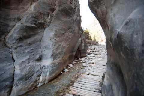 From Heraklion Area: Bus Trip to Samaria Gorge