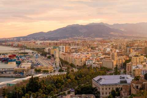 Málaga: Highlights and Sunset Guided Private Tour