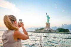 Cruzeiro de 60 Minutos: Estátua da Liberdade e Ilha Ellis