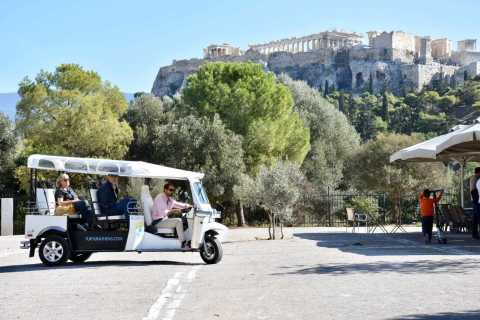 Athens: Private 3-Hour City Tour on Eco-Friendly Tuk Tuk