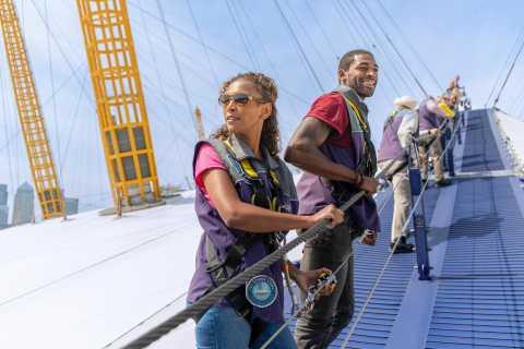 London: Klettertour auf das Dach der O2 Arena