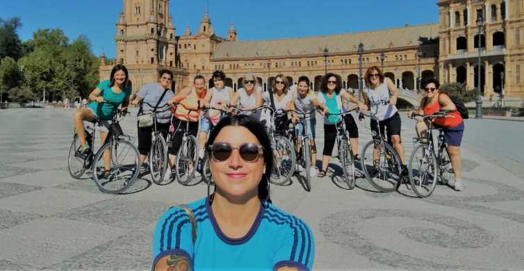 Séville: visite à vélo des points forts avec un guide local