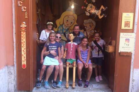 Florens: Familjens höjdpunkter Turné med statyn av David
