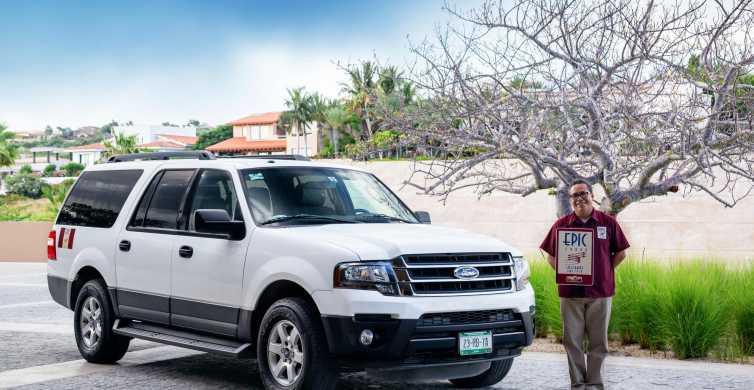 San José del Cabo: Airport Private Roundtrip SUV Type