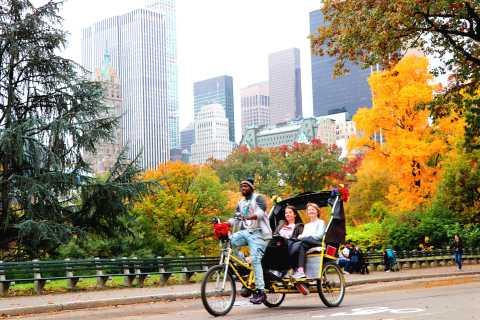 New York City: Pedicab Tour Through Central Park