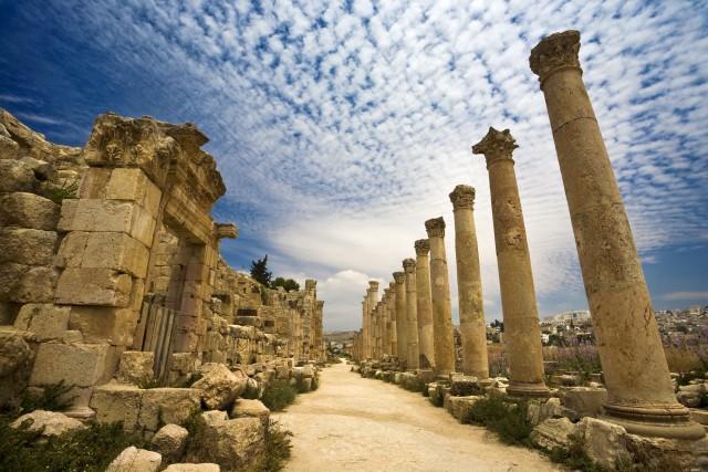 Van Amman: Private Amman en Jerash Sightseeing Tour