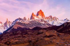 El Calafate: Excursão de 1 Dia a El Chaltén c/ Trilha