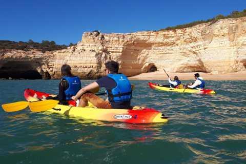Algarve: Benagil Caves 2-Hour Guided Kayaking Tour