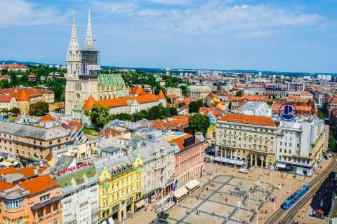Zagreb: Guided Small Group Walking Tour
