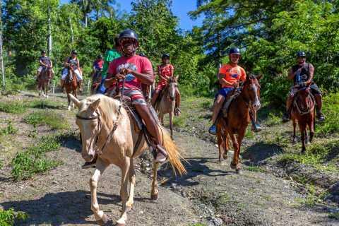 Puerto Plata: Zip Line Adventure and Horseback Ride