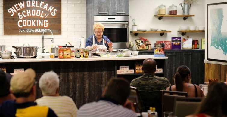 New Orleans Lunch & Lesson: Cajun & Creole Cooking Class