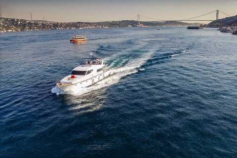 Istanbul: Private Bosphorus Cruise on a Luxurious Yacht