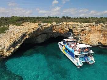 Mallorca: Glasboden-Katamaran-Tour entlang der Ostküste