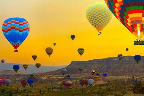 Cappadocia: 1-Hour Fairy Chimneys Hot Air Balloon Flight