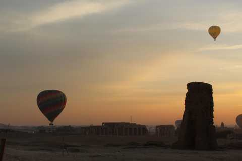 Valley of Kings: Private Sunrise Hot Air Balloon Ride