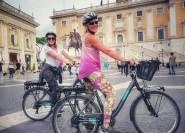 Höhepunkte Roms: 4-stündige E-Bike-Tour